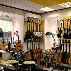 Музыкальные магазины Понырей