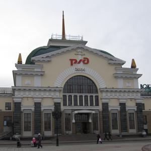 Железнодорожные вокзалы Понырей